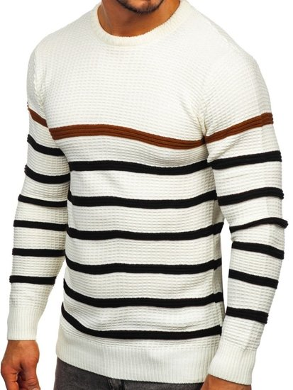 Men's Jumper Ecru Bolf 1951