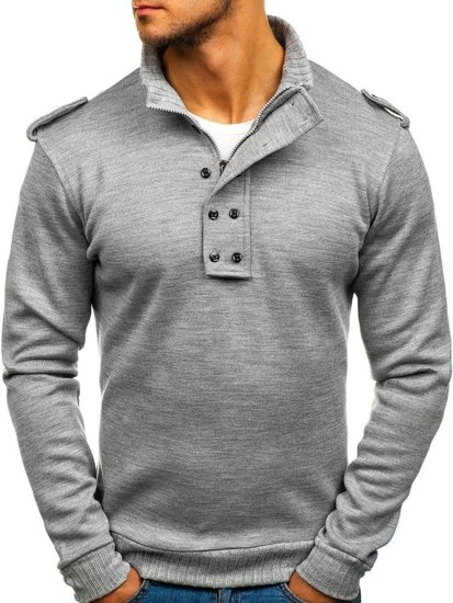 Men's Jumper Grey Bolf 1132