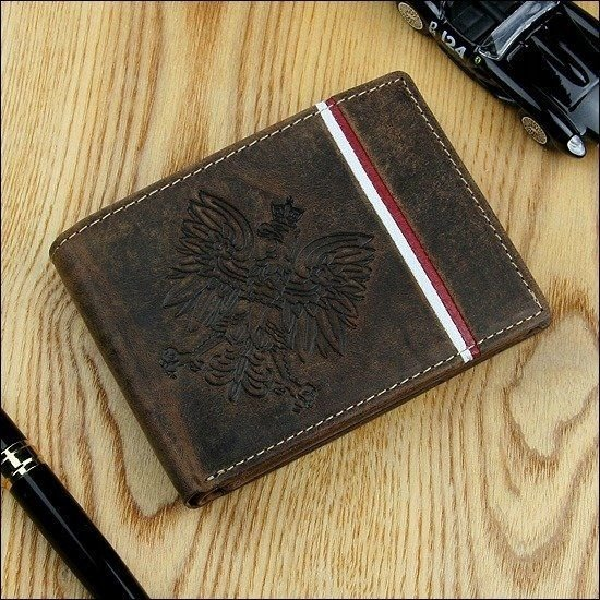 Men's Leather Wallet Brown 675
