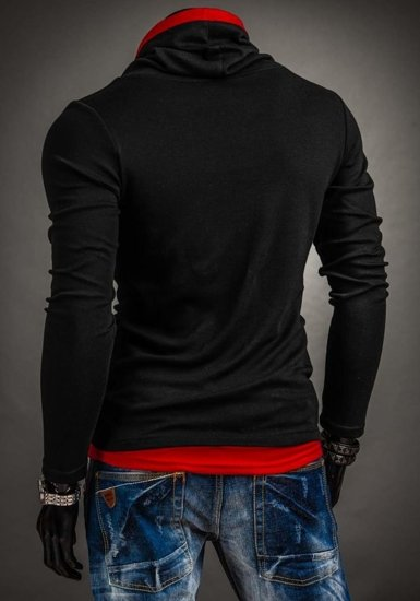 Men's Plain Longsleeve Black Bolf 18