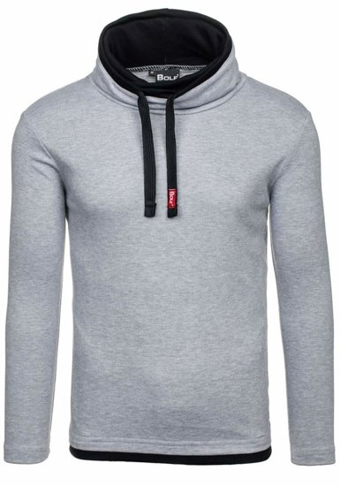 Men's Plain Longsleeve Grey Bolf 18