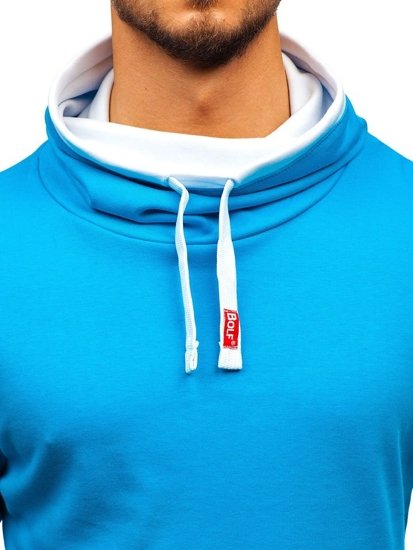 Men's Plain Longsleeve Sky Blue Bolf 18