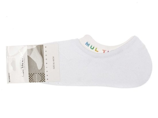 Men's Short Socks White Bolf 80015