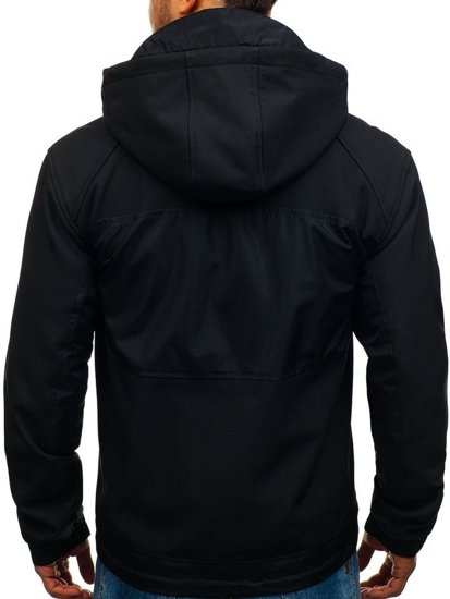 Men's Softshell Jacket Black Bolf 2139