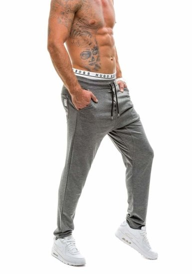 Men's Sweatpants Anthracite Bolf 1122