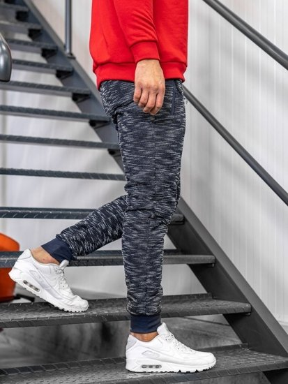 Men's Sweatpants Navy Blue Bolf 8740