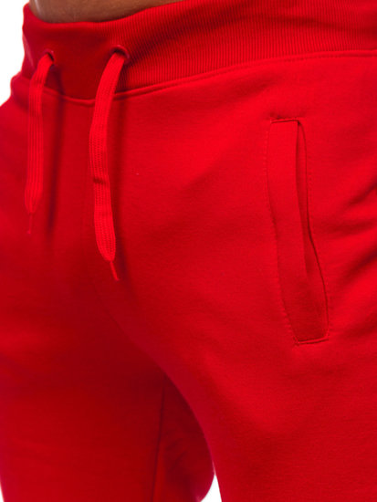 Men's Sweatpants Red Bolf XW01-A