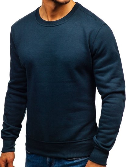 Men's Sweatshirt Navy Blue Bolf BO-01