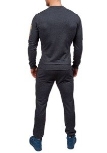 Anthracite Men's Tracksuit Bolf 0456