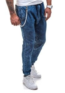 Men's Denim Joggers Navy Blue Bolf 803