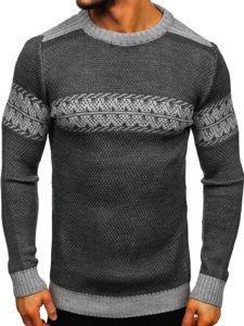 Men's Jumper Grey Bolf 1806