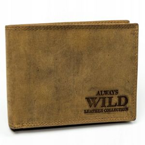 Men's Leather Wallet Brown 3139