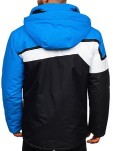 Men's Ski Jacket Blue Bolf 1339