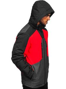 Men's Ski Jacket Red Bolf 1340