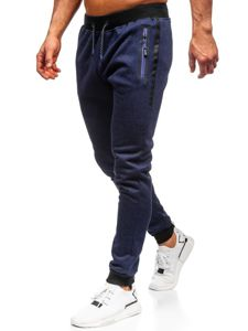 Men's Sweatpants Navy Blue Bolf AM72